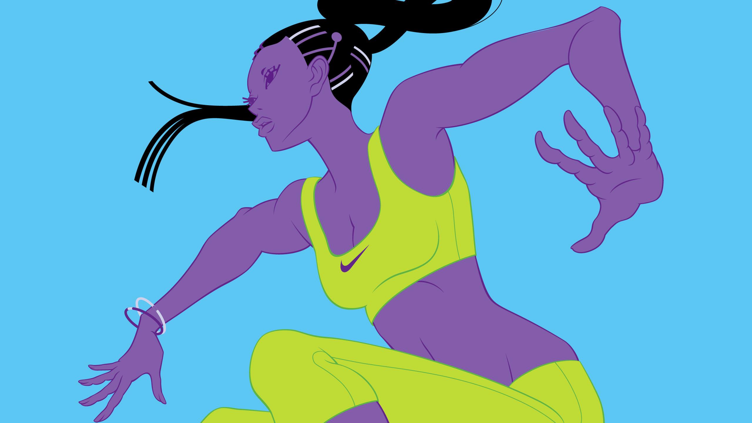 Nike Free illustration