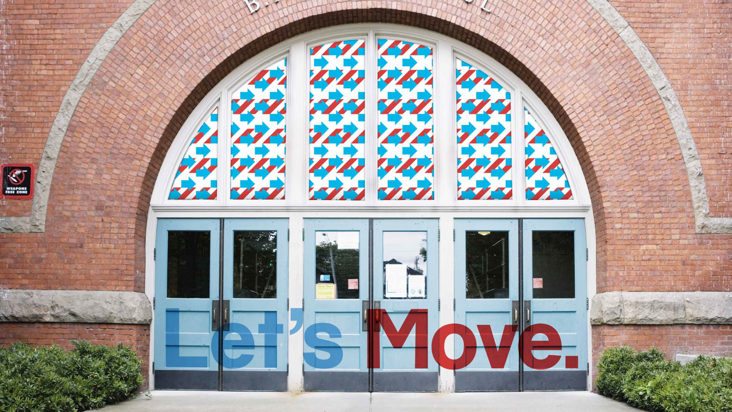 Let's Move school