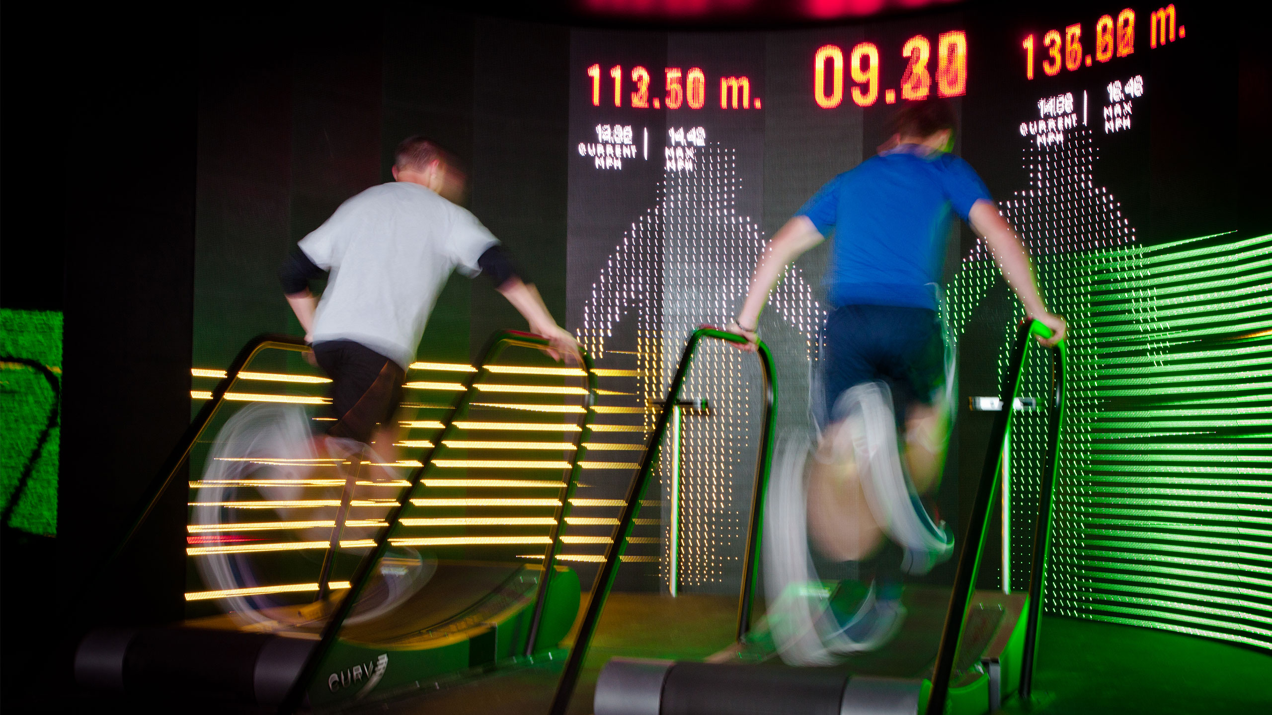 Treadmill race