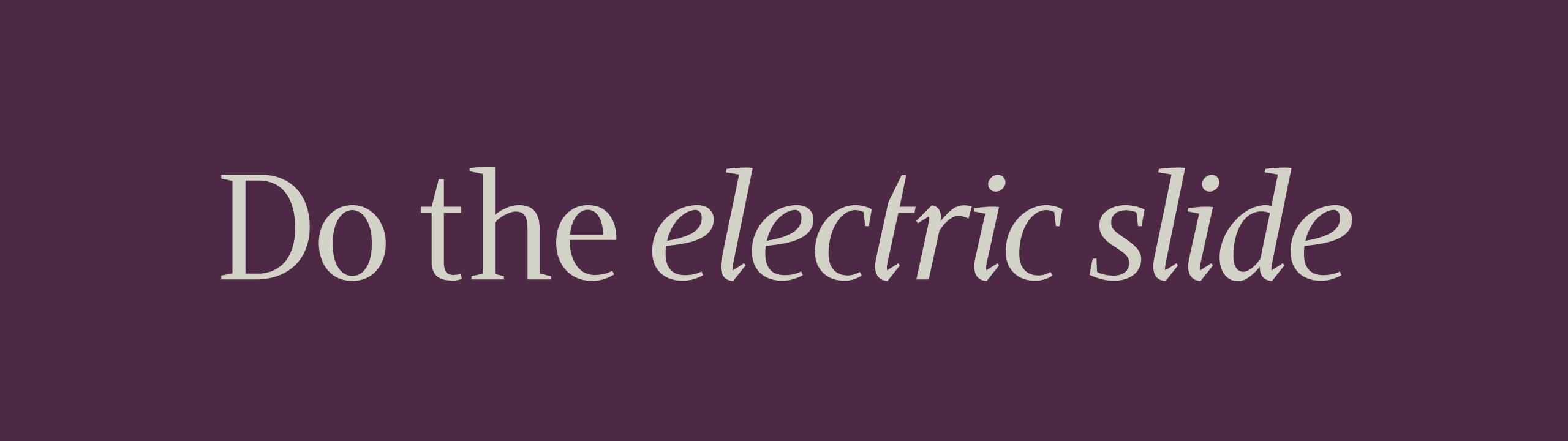 Sempra font sample