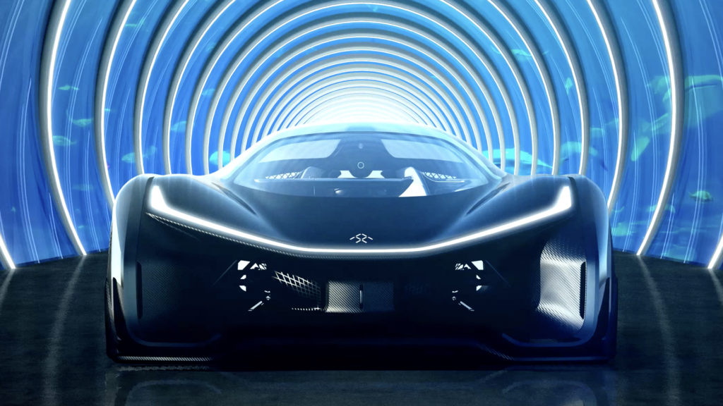 Faraday Future test drive
