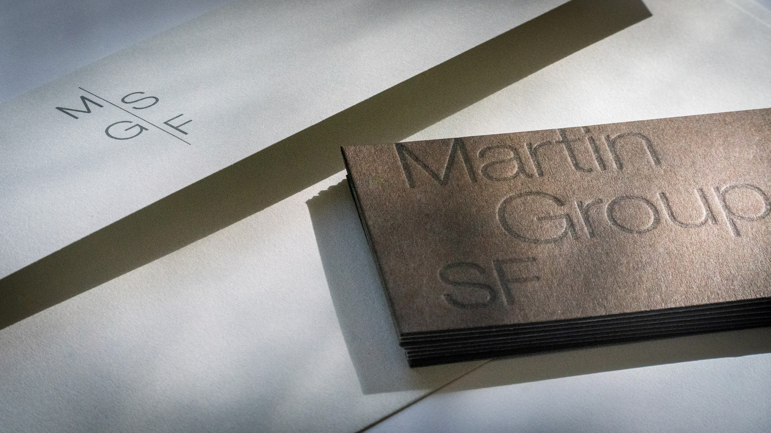 Martin Group SF stationery