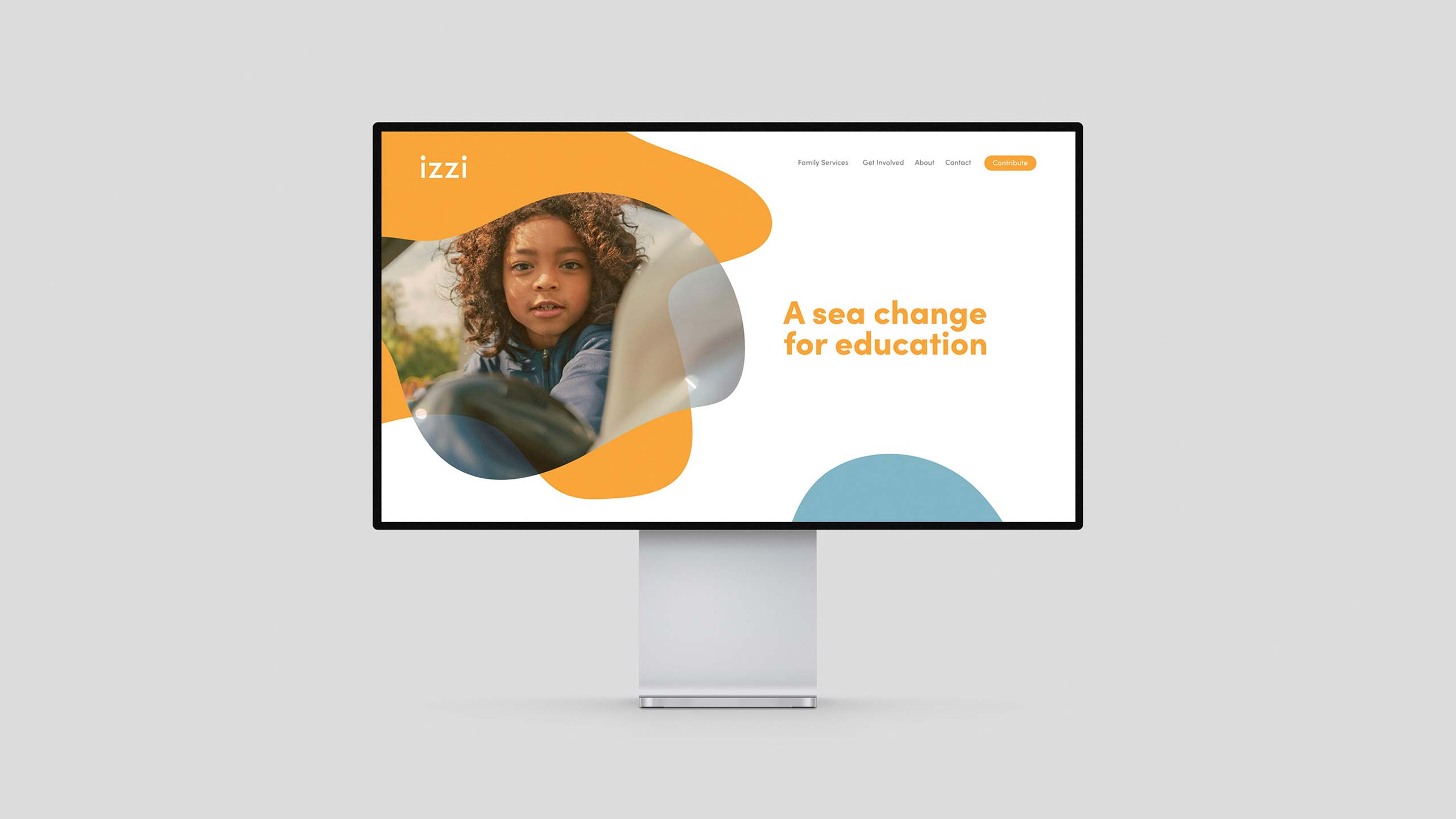 Izzi website home page