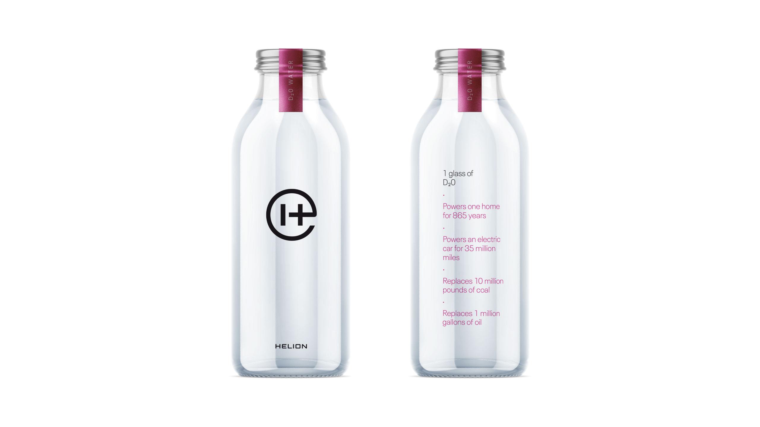 Deuterium water